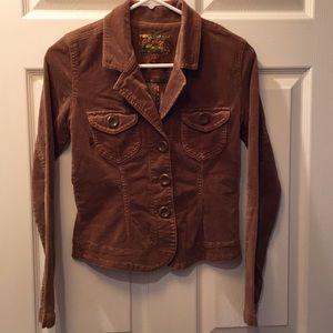 Plugg Chestnut 🌰 Corduroy Jacket